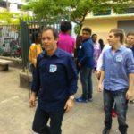 Claudio Manes votou num colégio do bairro Vila Maria, em Barra Mansa (Foto: Divulgação)