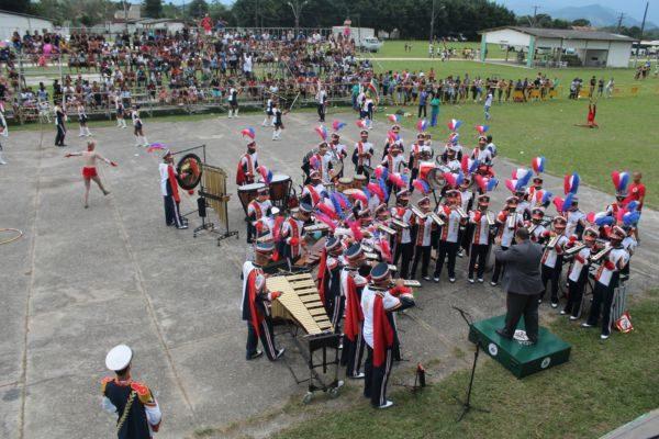 Banda ABF: Corporação venceu três de cinco categorias e está classificada para o Campeonato Nacional (Foto: Divulgação)