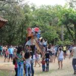 Famílias inteiras foram juntas passar o dia no Zoo (Foto: Sônia Paes)