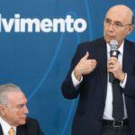 Brasília - Presidente Michel Temer e o o ministro da Fazenda, Henrique Meirelles, durante reunião do Conselho de Desenvolvimento Econômico Social, no Palácio do Planalto. (Antonio Cruz/ Agência Brasil)