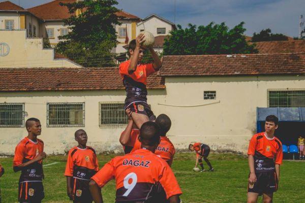 Instituto Dagaz e parceiros incentivam a prática do Rugby na região (Foto: Divulgação)