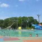 Gratuito: Para frequentar as três piscinas do parque é preciso ser morador de Volta Redonda (Foto: Divulgação/ACS)