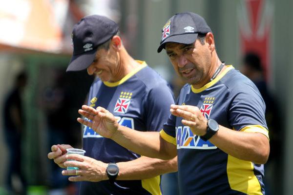 Zinho e Jorginho vivem momento turbulento no Vasco