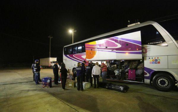 Transportadora que levava a mercadoria foi autuada e os produtos apreendidos foram levados para o depósito da Receita Federal (Foto: Divulgação)