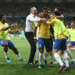 Golpe de misericórdia: Remanescente do 7 a 1 contra a Alemanha, Paulinho marcou o terceiro gol do Brasil contra a Argentina (Foto: Lucas Figueiredo/CBF)