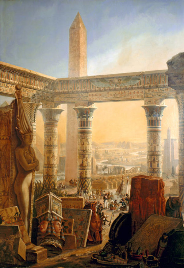 História: As aulas sobre o Egito antigo eram fascinantes