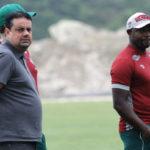 Homem de confiança: Marcão deve ser mantido na comissão técnica, independente de quem vai ser o presidente (Foto: Nelson Perez/Fluminense F.C.)