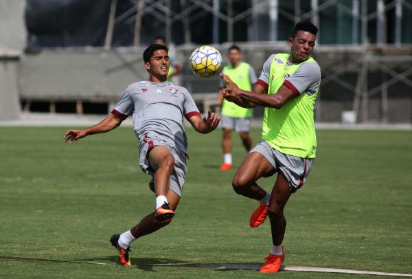 Oportunidade: Igor Julião é um dos que ganharão chance de atuar contra o Figueirense neste domingo (Foto: Nelson Perez/Fluminense F.C.)