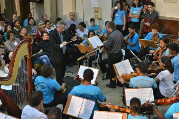 Mais uma edição: Evento faz homenagem aos grandes mestres, músicos responsáveis pela formação de instrumentistas no Brasil e no exterior (Foto: Divulgação)