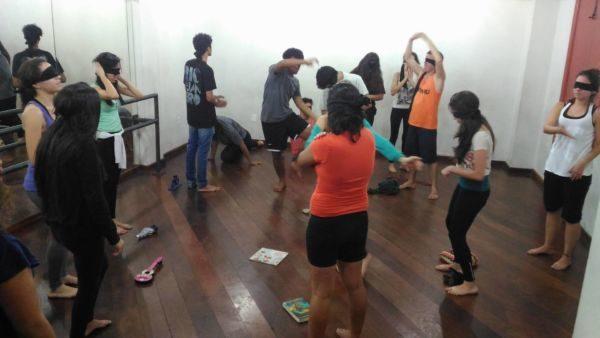 Em ação: Momentos e aulas durante a oficina (Fotos: Divulgação)