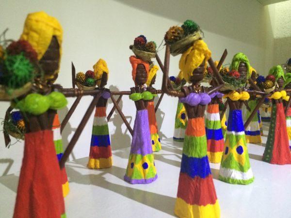 Arte: Mais de cinco mil peças serão expostas em estande da Secretaria de Estado de Turismo (Foto: Divulgação)