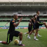 Seleção se prepara para encarar a Argentina no Mineirão
