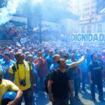 Polêmicas: Servidores protestaram contra pacote de medidas para tentar conter a crise (Foto: Divulgação)
