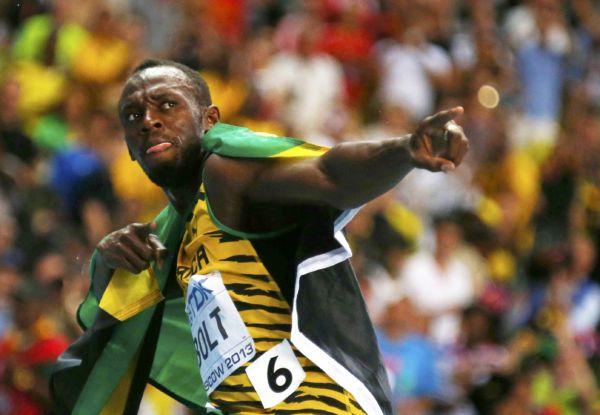 Lenda: Usain Bolt é um dos maiores velocistas de todos os tempos e dono de nove ouros olímpicos (Foto: Arquivo)