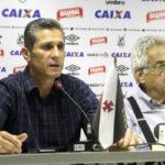 Acordo consensual: Eurico afirmou que o mau desempenho do time treinado por Jorginho no segundo semestre foi determinante para o fim do vínculo (Foto: Divulgação/vasco.com.br)