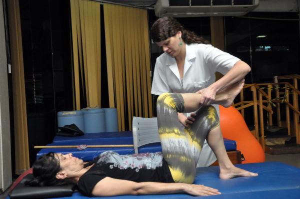 Serviço de Fisioterapia funciona no Estádio da Cidadania, no Aterrado, em Volta Redonda (foto: ACS)