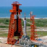 A máquina: O Atlas Mercury na plataforma 14