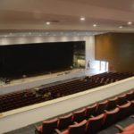 Prestes a inaugurar: Novo teatro tem 1,7 mil m2 de área construída, em três pavimentos – subsolo e térreo com mezanino (Foto: Divulgação PMVR)