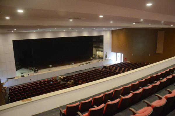 Novo teatro do Colégio Getúlio Vargas será entregue na