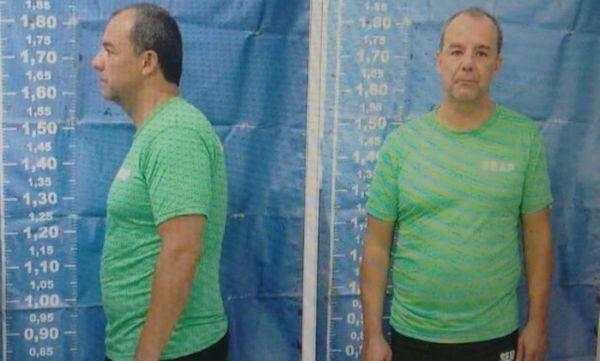 Preso: Sérgio Cabral foi condenado a 45 anos de prisão (Foto: Arquivo)