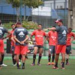 Focados: Jogadores têm adotado o discurso de conquistar a melhor colocação possível na tabela (Foto: Gilvan de Souza/Flamengo)