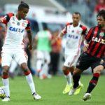Insuficiente: Flamengo, de Gabriel, jogou muito abaixo do normal e acabou caindo para a terceira posição (Foto: Staff Images/Flamengo)
