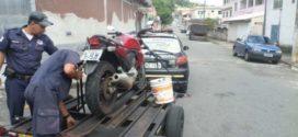 Guarda recupera moto furtada, em Angra dos Reis