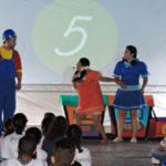 Em Pinheiral já começou: Equipe do projeto leva para as cidades oficinas, sessões de cinema, workshops e atividades teatrais com abordagens lúdicas (Fotos: Divulgação)