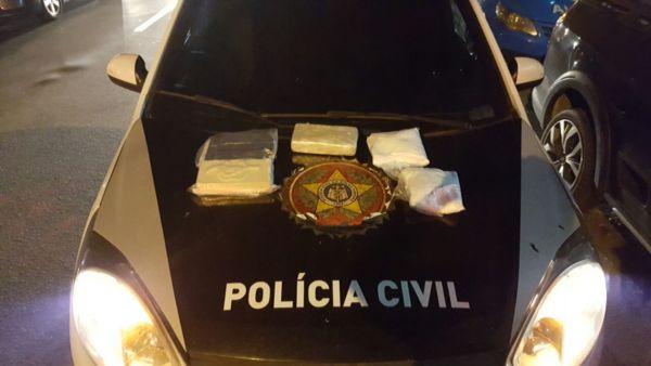 Operação para coibir o tráfico foi feita pela Polícia Civil, com apoio da PRF