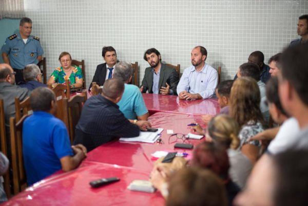 Solução: Samuca disse que prevenção, utilizando o esporte a cultura, é o melhor caminho para evitar o aumento da criminalidade (Foto: Gabriel Borges/ Divulgação PMVR)