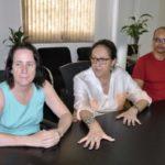 Presidente da Farj, Luz Marina de Souza, entregou o alvará liberação à secretária de Esporte e Lazer, Rose Vilela (Foto: Divulgação PMBM/Paulo Dimas)