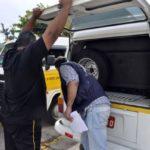 Transporte Escolar: Ação teve finalidade de verificar as condições de conservação dos veículos e documentações (Foto: Divulgação PMBM/Paulo Dimas)