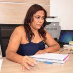 Secretaria de Educação: Flávia Sampaio disse que algumas contratações poderão ser feitas ao longo do ano para suprir carência de profissionais (Foto: Chico de Assis/Ascom BM)