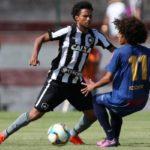 Botafogo ainda carece de maior ritmo de jogo e acabou surpreendido