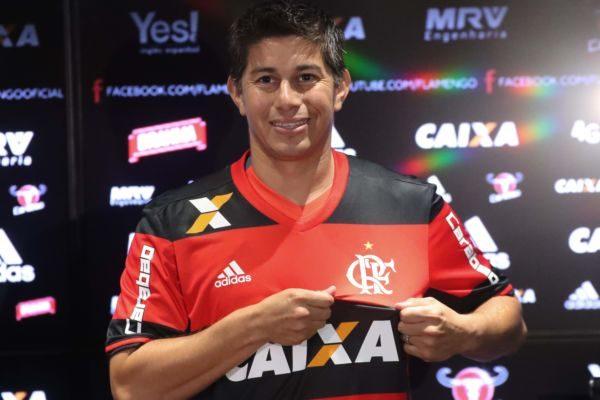 Conca é apresentado e exalta tamanho do Flamengo para o futebol mundial