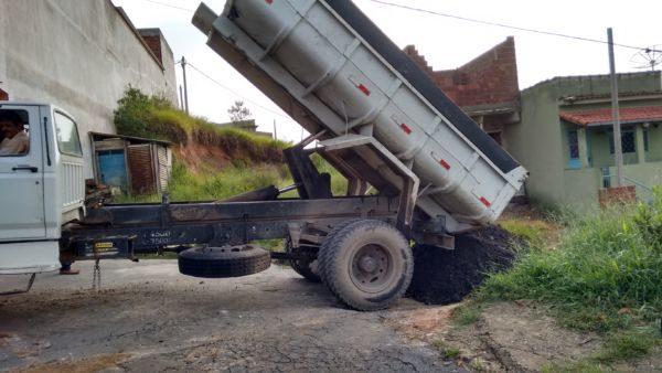 Melhorias: Serviço prevê a colocação de escória em todas as vias do bairro (Foto: Divulgação)
