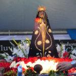 Nossa Senhora Aparecida: Imagem é uma réplica fiel da que foi encontrada nas águas do Paraíba do Sul, há 300 anos (Foto: Arquivo/Paulo Dimas)