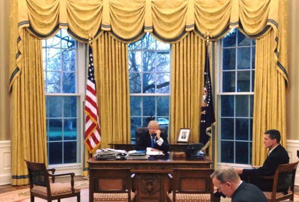 Trump escreveu vários posts no Twitter defendendo as medidas como necessárias