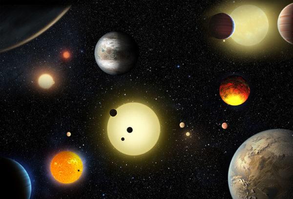 Mundos: 2016 viu aumentar a lista de mundos exóticos no espaço