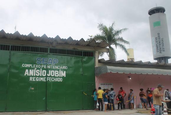 Desde domingo: Rebelião no Complexo Penitenciário Anísio Jobim só terminou depois de 17 horas (Foto: Divulgação/Secretaria de Administração Penitenciária do Amazonas)