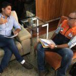Reunião: Mario Esteves conversa com coordenador da Defesa Civil sobre sirenes