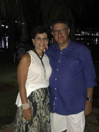 Sônia Aebi Barbosa e o advogado Ronaldo Barbosa