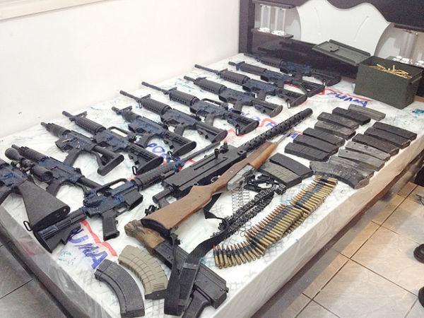 Entrada de armas no Estado devem ganhar atenção especial da polícia