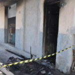 Consumido pelas chamas: Imóvel no bairro Eucaliptal ficou destruído e Defesa Civil recomendou demolição (Foto: Arquivo/Franciele Bueno)