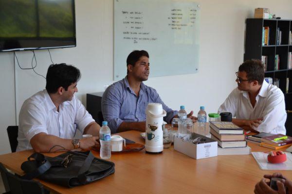 Objetivo: Mario Esteves quer estreitar contato com empresas visando geração de empregos aos moradores de Barra do Piraí (Foto: Divulgação PMBP)