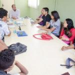 Habitação: Maycon Abrantes, que está à frente da Smac, levantou soluções para solucionar o problema do grupo (Foto: Divulgação/PMVR)