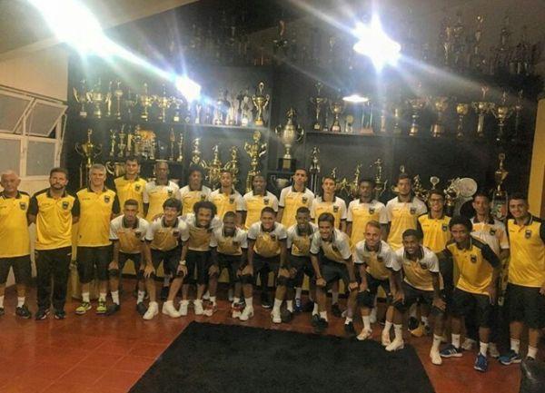 Garotos: Grupo do Volta Redonda ficará na cidade de Penápolis e enfrenta logo na estreia os donos da casa (Foto: Divulgação/Assessoria de imprensa)