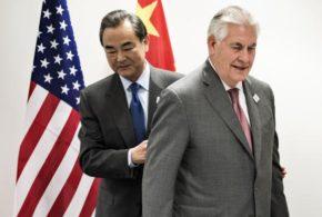 China e EUA têm primeiro encontro de alto nível desde eleição de Trump