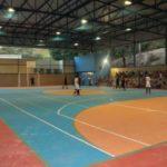 Espaço para o esporte: Inauguração contou com partidas de futsal feminino e masculino (Foto: Chico de Assis/PMBM)