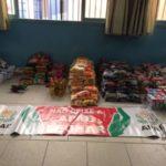 Apae recebe alimentos que foram doados por torcedores do  Voltaço (Foto: Fair Play)